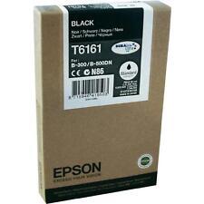 Original EPSON T6161 Tinte Schwarz Black B300 B-310N B-500DN B-510DN NEU 1/16