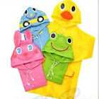 Funny Raincoat Cute Baby Children Cartoon Rain Coat Kids Rainwear Waterproof New
