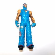 WWE REY MYSTERIO MATTEL ELITE Wrestling Figure EXCELLENT SHAPE! BLUE COSTUME