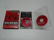 Metal Gear Solid The Twin Snakes Nintendo Gamecube Japan