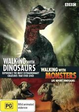 Walking with Dinosaurs / Walking Monsters DVD R4 VGC