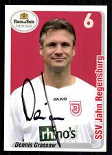 Dennis Grassow Jahn Regensburg 2007-08 TOP AK  + A 72295