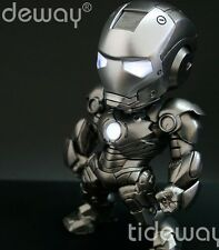 "IRON MAN 3 NEW 6"" Hot SD Iron Man Mark III War Machine Action figure- SD baby"