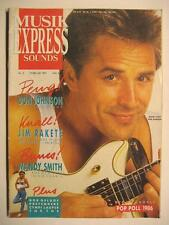 MUSIK EXPRESS SOUNDS 1987 # 2 - DON JOHNSON JIM RAKETE BOB GELDORF THE THE