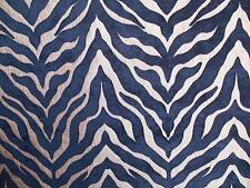 1 METRI PORTER & STONE Limpopo Zebra Ciniglia Tessuto per Tende (articolo: 431)