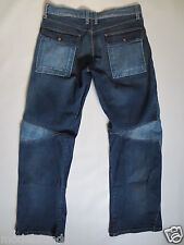 Cult Jeans ENERGIE relaxed bootcut 33 Zip Fly denim blue used TIP TOP/J77