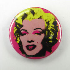 Andy Warhol Marilyn Monroe - Button Badge - 25mm 1 inch