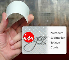 Sublimation Aluminum Business Card Blanks 5 Pack for 500 cards