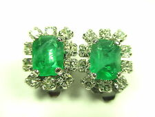 Christian Dior Ohrclips Vintage 90er Modernist earrings Ohrringe tt N4