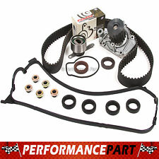 96-00 Honda Del Sol 1.6L D16Y7 Timing Belt Kit Valve Cover Gasket Water Pump