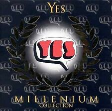 Millennium Collection by Yes (CD, Apr-2000, 2 Discs, Millenium Collection)