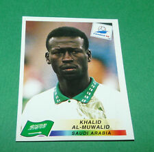 N°200 AL-MUWALID SAUDI ARABIA PANINI FOOTBALL FRANCE 98 1998 COUPE MONDE WM