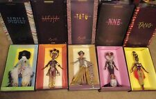 5 Byron Lars Treasures of Africa MBILI Moja Tatu NNE Tano Barbie Dolls NRFB NEW