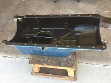 Used Mercruiser 8qt Oil Pan fits 454 502 Gen 5 and 6 BBC