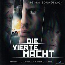 DIE VIERTE MACHT - ORIGINAL SOUNDTRACK - MUSIC BY HEIKO MAILE / CD - TOP-ZUSTAND
