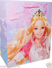Barbie 12 Dancing Princesses Small Gift Bag Tote 1ct Party Supplies