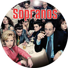 CHAPA/BADGE LOS SOPRANO . pin button the sopranos james gandolfini lorraine brac