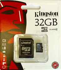 Genuine Kingston 32GB Micro SD Card and Adaptor for Samsung Galaxy A3 A5 J5 S5
