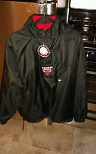 Chicago Bulls pullover reversible jacket  mens large