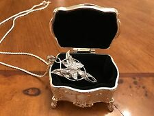 NEW! Lord of The Rings Evenstar Pendant of Arwen Sterling Silver 925 LOTR