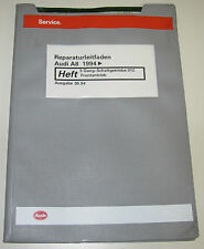 Werkstatthandbuch Audi A8 D2 4D 5 Gang Schaltgetriebe Frontantrieb ab 1994!
