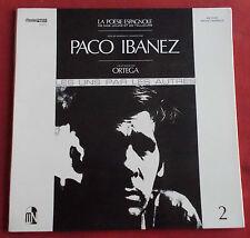 PACO IBANEZ LP ORIG FR LES UNS PAR LES AUTRES