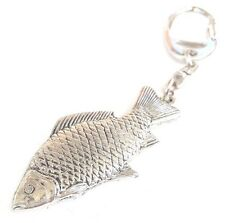 Carp Fish Handcrafted from Solid Pewter In the UK Key Ring