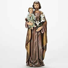"Joseph's Studio 18""St. Joseph with Baby Jesus Indoor Outdoor Garden Statue 68118"