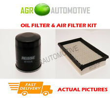 PETROL SERVICE KIT OIL AIR FILTER FOR MAZDA 626 1.8 101 BHP 1999-02