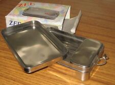 NIB High Quality India Lunch Tiffin Box / Rectangular / Rare Box-in-box Design
