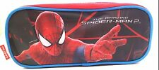Marvel The Amazing Spider-Man 2 Boy's Girl's Triple Compartment Pencil Case NWT