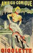 A4 photo guillaume albert les affiches illustrees 1886 1895 1896 AMBIGU COMIQUE