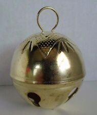 2-3/4 Inch 70mm Gold Jumbo Large Jingle Bell Star top 12 PCS crafts Vintage 80s