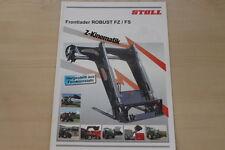 158529) Stoll Frontlader Robust FZ FS Prospekt 03/2009