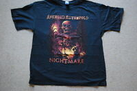 AVENGED SEVENFOLD NIGHTMARE INNER RAGE T SHIRT XL A7X OFFICIAL HAIL TO THE KING