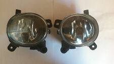 Audi A6 Front Fog Lights Lamp Pair 2009-2011
