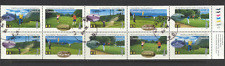 Canada 1995 Golf/Sport/Games/Buildings 10v pane n19618