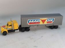 "Mad Ox World Wide Cargo Express 9"" long tractor Trailer  truck"
