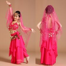 ADN01# Kids Girls Belly Dance Costume (Top, Skirt...) 6 Colors 3 Sizes