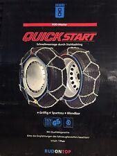 SCHNEEKETTEN RUD QuickStart 2002715 für 175/65-13, 165/65-14, 175/60-14