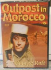 Outpost in Morocco (DVD, 2003) RARE 1949 WAR FOREIGN LEGION ACTION BRAND NEW