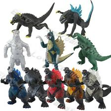 Set Of 10pcs Anime Film Moive Godzilla Kaiju Giant Monster 3cm-6cm Figure Loose