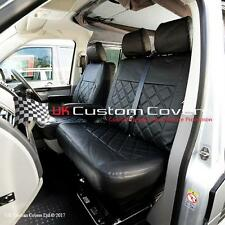VW TRANSPORTER T5 T26 T28 T30 T32 TAILORED LEATHERETTE SEAT COVERS 2003 ON 209