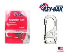 Key-Bak Stainless Steel Carabiner-Tool 5 Function With Key Ring