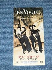 "EN VOGUE Japan 1992 NM Tall 3"" CD Single MY LOVIN'"