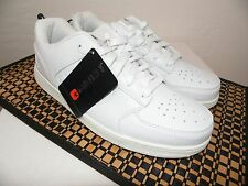 AND1 Providence Low Retro Basketball Shoes Size 11 Men New White Sneakers