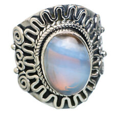 Blue Lace Agate 925 Sterling Silver Ring Size 8.75 Ana Co Jewelry R778260F