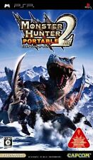 Used PSP Monster Hunter Portable 2nd  Japan Import ((Free shipping))