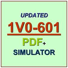 VMware Certified Associate 6 Data Center VCA6 1V0-601 Test Exam QA PDF+Simulator