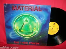 MATERIAL The third power LP 1991 GERMANY MINT- Bill Laswell Dub Reggae